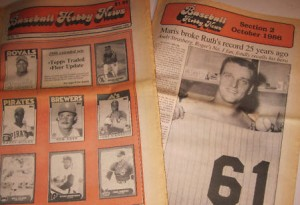 Baseball Hobby News 1986 issues