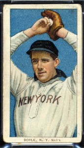 Joe Doyle T206 error card