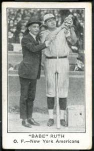 1922 American Caramel Ruth