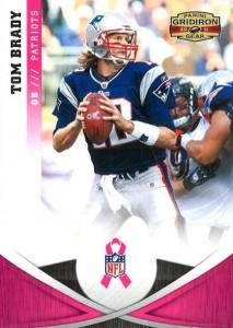 Tom Brady Panini pink Gridiron Classics