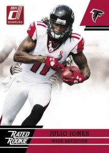Julio Jones Rated Rookie