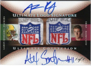 2005 Ultimate Rodgers autograph