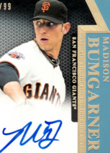 Tier One Bumgarner relic