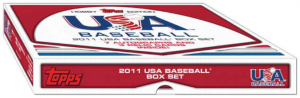2011 Topps USA Baseball boxed set