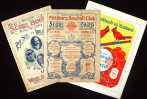 1903 World Series program