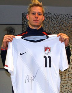 Auction USA Soccer Jersey