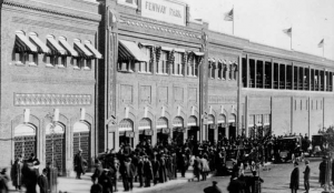 Fenway Park Opening Day 1912