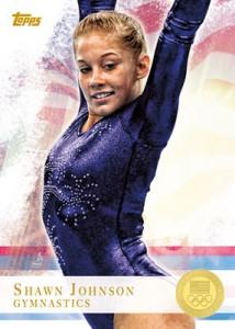 Topps 2012 Olympics Shannon Johnson