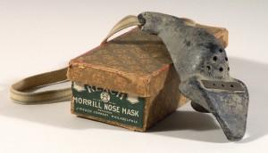 Nose guard vintage