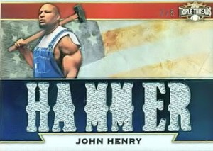 2011 Topps Triple Threads John Henry