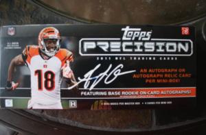 2011 Topps Precision hobby box