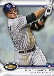 Troy Tulowitzki 2012 Topps Finest