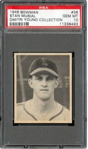 1948 Bowman Stan Musial