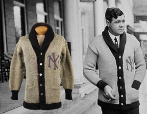 1922 Babe Ruth sweater Yankees