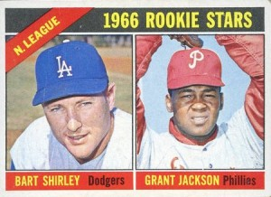 Grant Jackson 1966 Topps rookie card