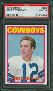 Roger Staubach rookie card