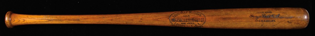 Louisville Slugger Babe Ruth game bat