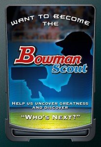 Topps Bowman Scout contest