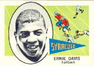 Ernie Davis 1961 Fleer
