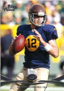 Aaron Rodgers 2012 Topps Prime
