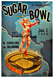 Sugar Bowl program 1949