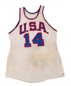 1960 Olympic basketball jersey Oscar Robertson
