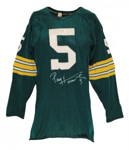Packers Paul Hornung jersey