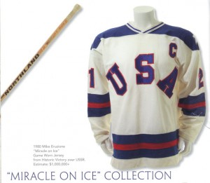 Miracle on ice Eruzione jersey