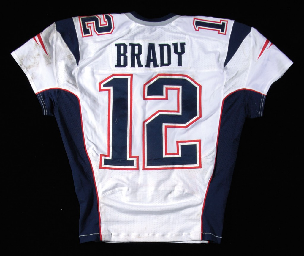 Game worn Tom Brady Patriots jersey