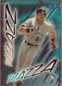 Mike Piazza Marlins card