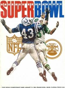 Super Bowl III program