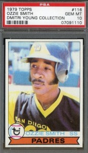 psa 10 ozzie smith rookie card