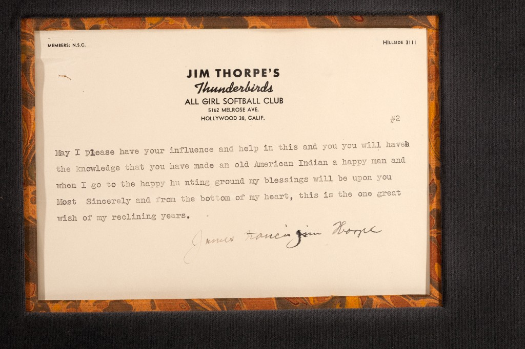 poignant appeal jim thorpe letter begs for return of