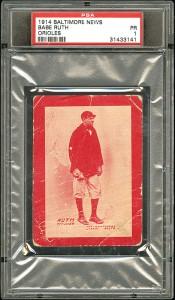 1914 Baltimore News Babe Ruth