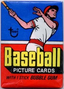1977 Topps baseball pack