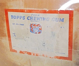 Topps Chewing Gum 1952 baseball case