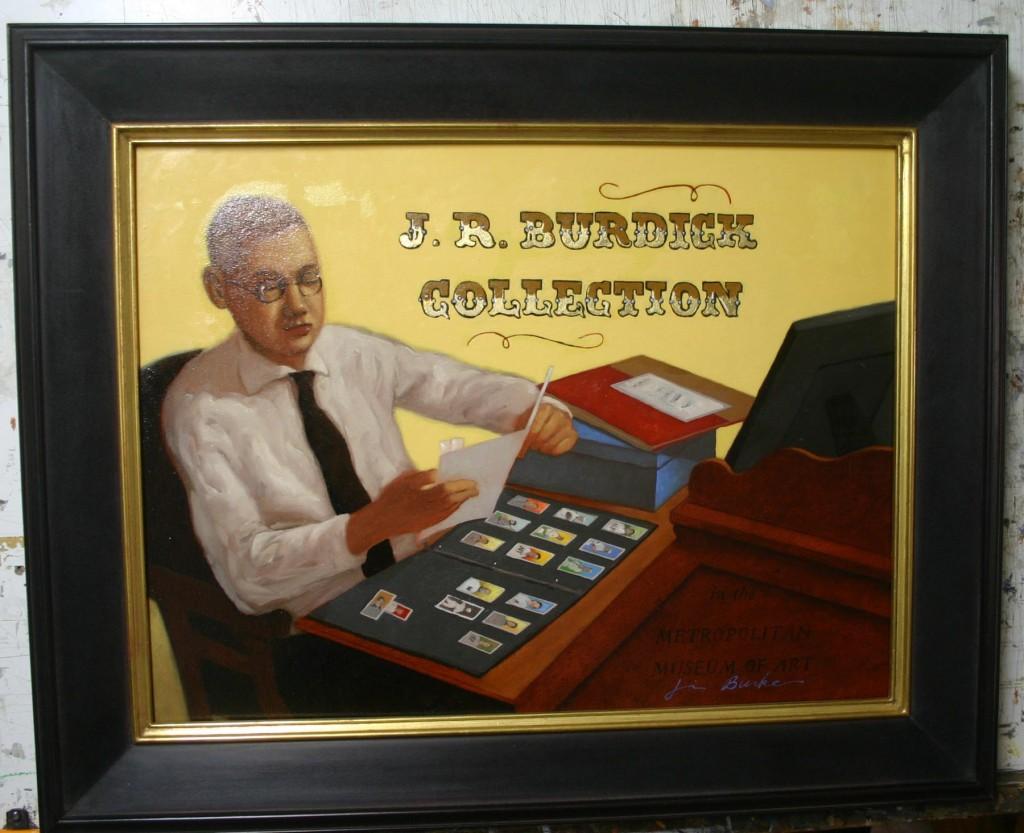 Jim Burke illustration Jefferson Burdick