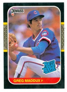 Greg Maddux 1987 Donruss