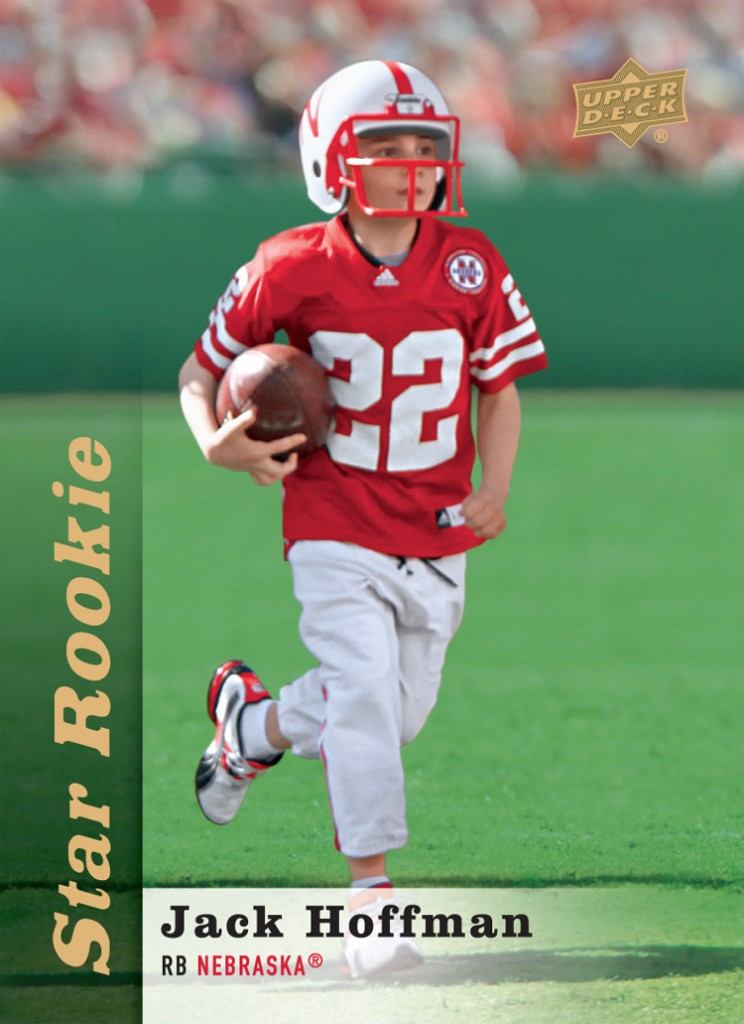 Jack Hoffman football card