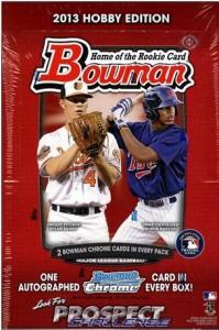 2013 Bowman box