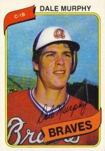 Dale Murphy 1980 Topps