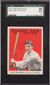 Joe Jackson 1915 Cracker Jack SGC 96