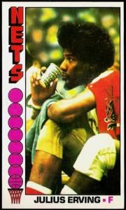 Julius Erving 1976-77 Topps #1