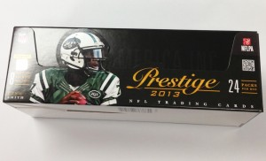 2013 Panini Prestige Box