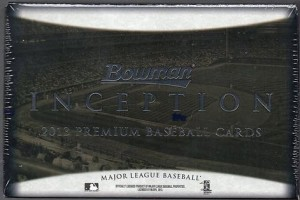 2013 Bowman Inception Baseball box