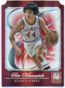 Pete Maravich Donruss Elite 2012-13