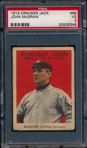 John McGraw 1914 Cracker Jack
