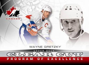 Wayne Gretzky Upper Deck 2013 Program of Excellence