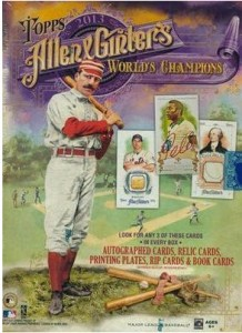 2013 Allen Ginter box