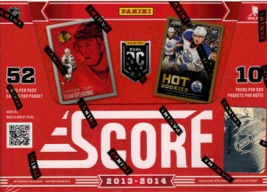 Score 2013-14 Hockey Box